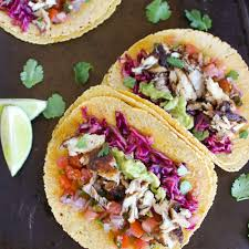 Skinny Fish Tacos with Cilantro Lime ...