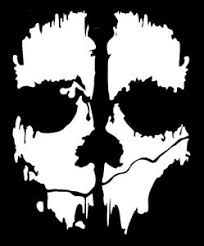 Call Of Duty Ghost Cod Mask Vinyl Decal Sticker Many Colors And Sizes Ps4 Laptop Ebay