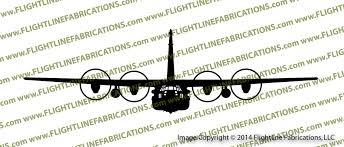 Mc 130h Combat Talon Ii C 130 Hercules Transport Aircraft Front Vinyl Die Cut Sticker Decal