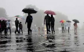 Weather update: भारी बारिश से नदी-नाले उफान पर, चार जिलों के लिए यलो अलर्ट