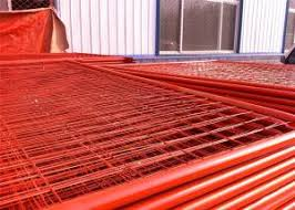 Heavy Duty Crowd Control Barriers Construction Site Security Fencing For Sale Construction Fence Panels Manufacturer From China 106476764