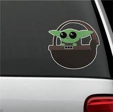 Baby Yoda Car Decal Shut Up And Take My Money