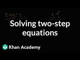 two step equations with decimals and