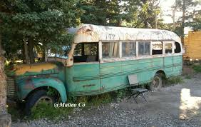 "Nel cuore del Magic Bus di ""Into the wild"" per Chris McCandless ..."