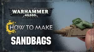 how to make sandbags you