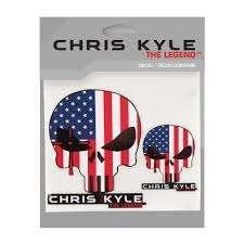 American Sniper Chris Kyle The Legend Flag Decal Walmart Com Walmart Com