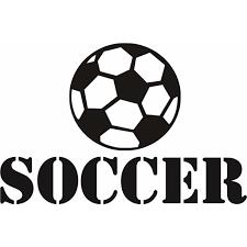 Custom Wall Decal Sticker Soccer Ball Player Sports Kids Boy Girl 12x18 Inches Walmart Com Walmart Com