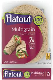 flatout multigrain with flax flatbread