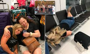 Hen party is forced to pay £6,000 for new flights when their easyJet flight  is cancelled   Daily Mail Online