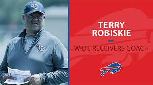 Bills name Terry Robiskie receivers coach