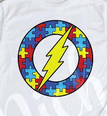 Autism Flash Decal Niche Creative Studio