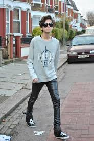 skinny jeans boys mens leather pants
