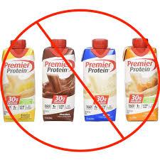 premier protein not premier for