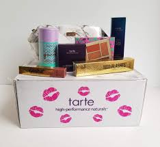 tarte create your own beauty box review