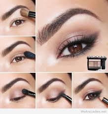 makeup tutorials for brown eyes photo