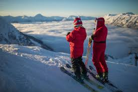 santas ski and ride for free at alyeska