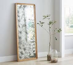 gold frame avery antique floor mirror