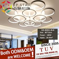 home decorative led ceiling mounted
