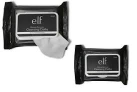 e l f makeup remover cleansing cloths