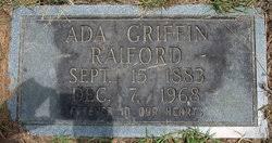 Ada Catherine Griffin Raiford (1883-1968) - Find A Grave Memorial