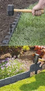 inexpensive garden edging ideas brick
