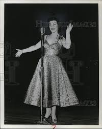 1958 Press Photo Denise Lor American Pop Singer and Actress ...