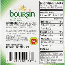 boursin gournay cheese garlic fine