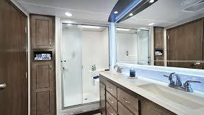 rv floor plans front bathroom layout