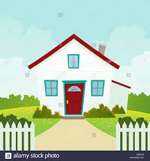 Cartoon House High Resolution Stock Photography And Images Alamy