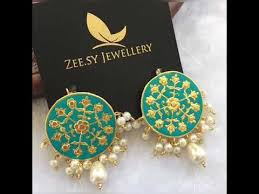 beautiful earnings by zee sy jewellery