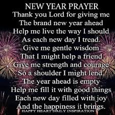 my new year prayer here is to a new year a better year a better