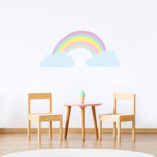 Big Rainbow Wall Decal For Kids Rooms Made Of Sundays