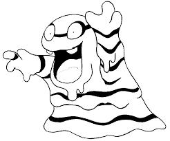 Kleurplaat Pokemon Alola Formen Alola Grimer 16