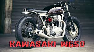 kawasaki w650 cafe racer you