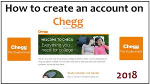 how to create account on chegg 2018 - YouTube