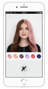 3d ar hair color simulation app
