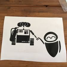Disney Accessories Walle And Eve Decal Poshmark