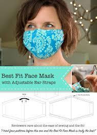 face mask tutorial diy face mask