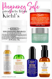 pregnancy safe skincare from kiehl s