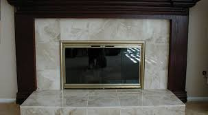 ideas gas fireplace glass replacement
