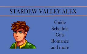 stardew valley alex romance gifts