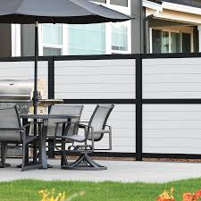 Freedom Privacy Boards 6 In White 6pk In The Metal Fence Panels Department At Lowes Com