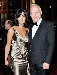 polly samson   Gilmour, seen here with Polly Samson at The Man Booker Prize  Winning ...   David gilmour, David gilmour pink floyd, Gorgeous women