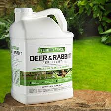 Liquid Fence Deer Rabbit Repellent Concentrate 2 5 Gallon