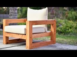 diy modern outdoor chair you
