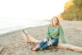 Abby Parker Camp Fitch Senior Session - Michaela Kessler