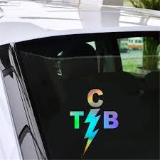 Elvis Tcb Vehicle Car Decal Window Truck Bumper Auto Notebook Laptop Sticker Car Decal Stickers Laptopauto Sticker Aliexpress