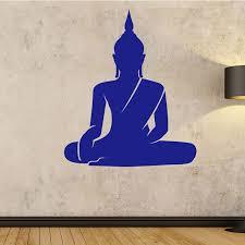 Meditating Figure Vinyl Decal Sticker Car Window Meditation Yoga Buddhism
