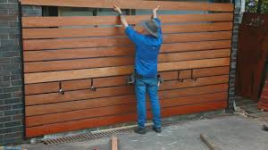 Garage Makeover Easy Timber Screen Youtube