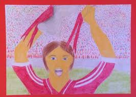 "Cork Wins the All- Ireland"" Proud to be a Rebel!, Abby Reynolds, Coláiste  Treasa, 1st Year – Kanturk Arts Festival"
